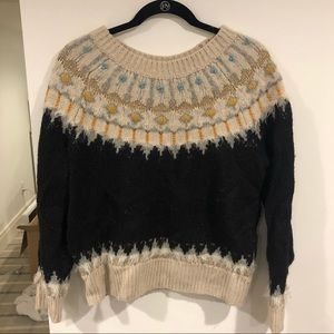 Anthropologie - Sleeping on Snow - sweater